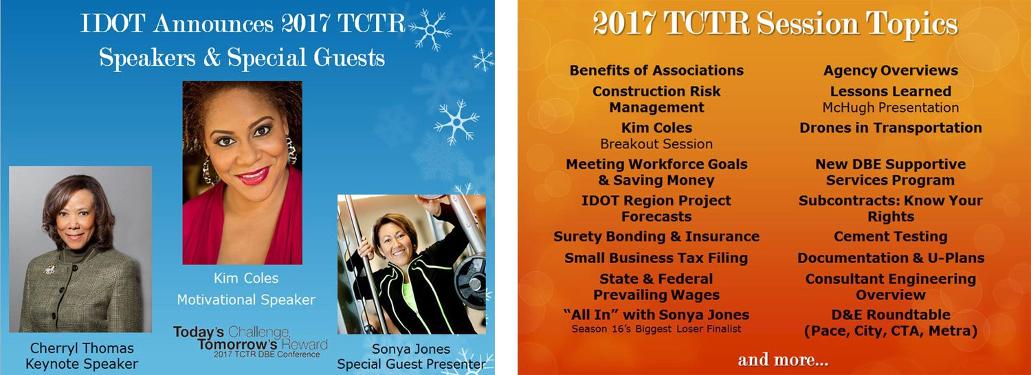 2017 TCTR Session Speakers