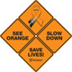 See Orange Slow Down