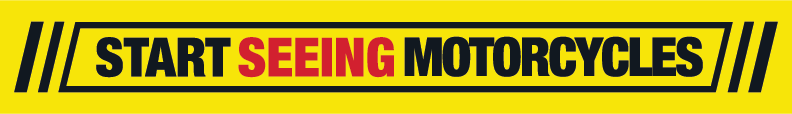 Start Seeing Motorcycles Banner